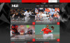 Responsive Website template over Baseball  New Screenshots BIG