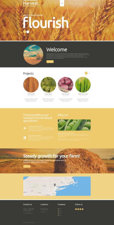 Agriculture Responsive Joomla Sablon