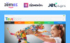 """Toys for Kids"" Responsive WooCommerce Thema New Screenshots BIG"
