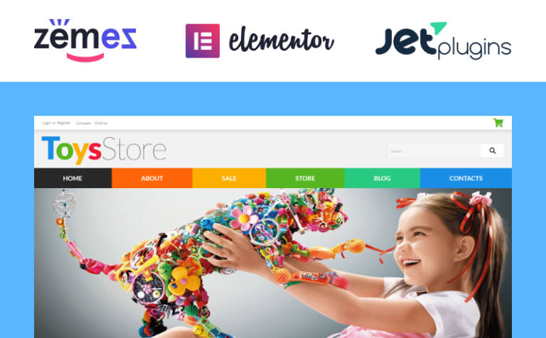 toys for kids woocommerce theme 52481