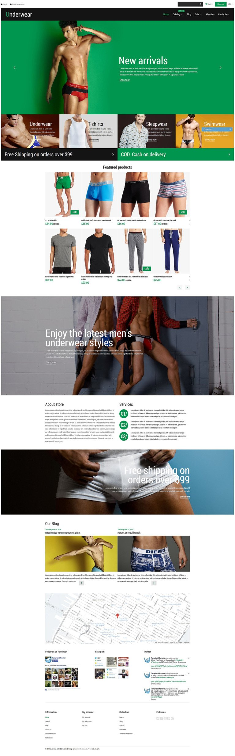 Underwear Fashion Shopify Theme New Screenshots BIG