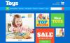 ZenCart шаблон №52432 на тему детские игрушки New Screenshots BIG