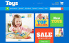 ZenCart šablona Obchod s hračkami New Screenshots BIG