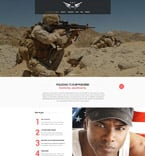 Military Website  Template 52500