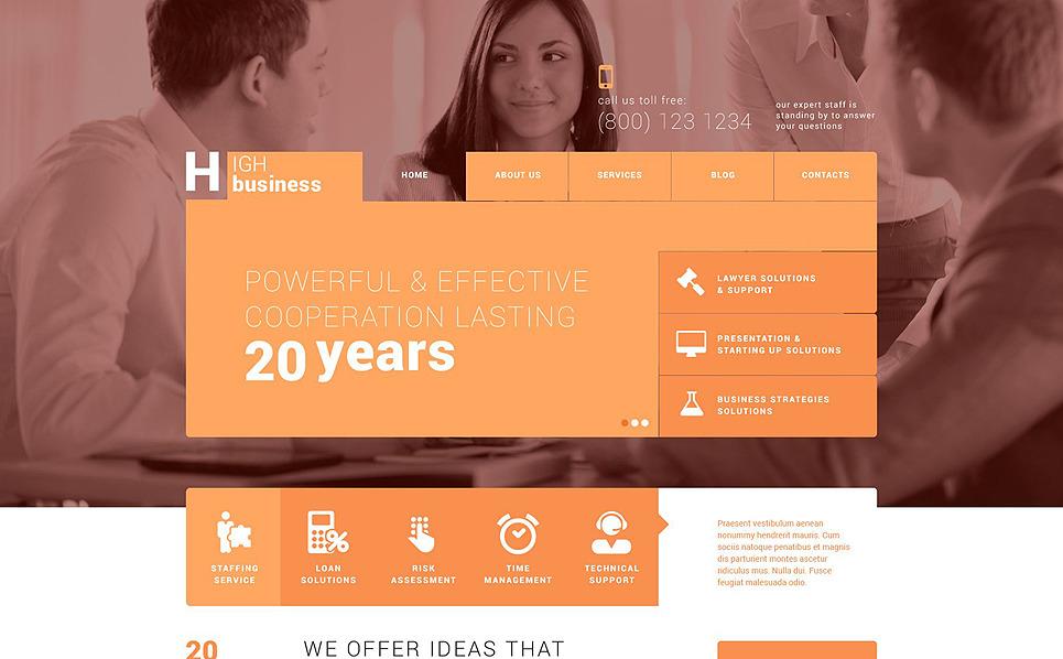 Responsywny motyw WordPress #52503 na temat: biznes i usługi New Screenshots BIG
