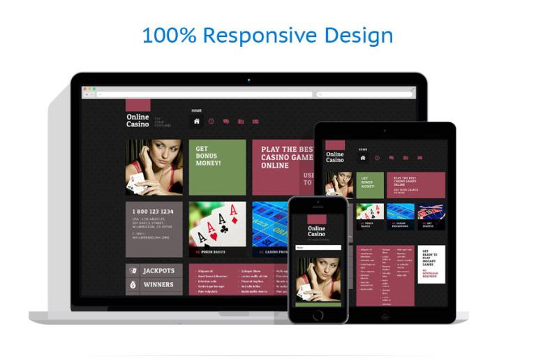 Casino WordPress Template