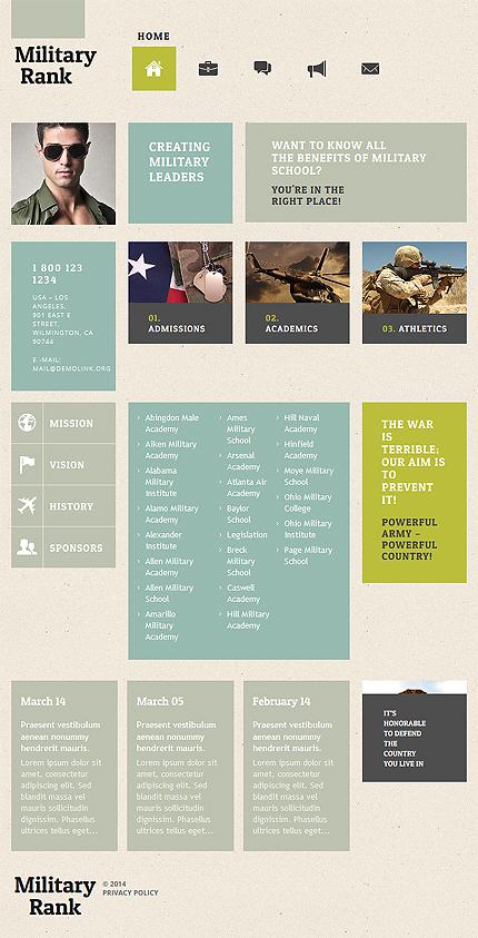 WordPress Theme/Template 52506 Main Page Screenshot