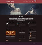 Entertainment Website  Template 52512