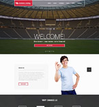Sport Website  Template 52513