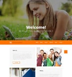 Education Website  Template 52515