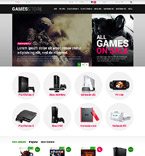 Games PrestaShop Template 52518