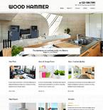 Furniture Website  Template 52522