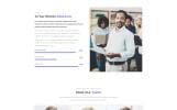 Free Responsive Corporate Template Website Template