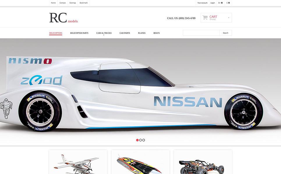 Responsywny szablon PrestaShop #52530 na temat: sklep z zabawkami New Screenshots BIG