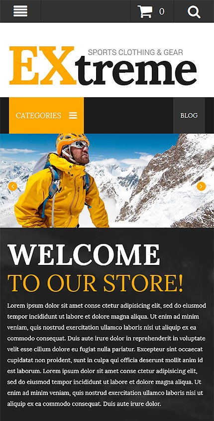 Magento Theme/Template 52534 Main Page Screenshot