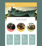 Military Website  Template 52540