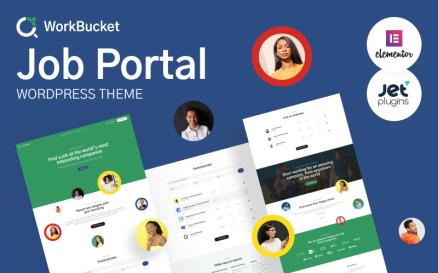 WorkBucket - Job Portal, Recruitment Directory WordPress Theme