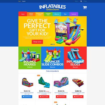 Купить  пофессиональные VirtueMart шаблоны. Купить шаблон #52548 и создать сайт.