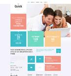 Communications WordPress Template 52550
