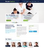 Education WordPress Template 52552
