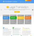 Education WordPress Template 52553