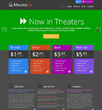 Entertainment WordPress Template 52555