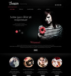 Entertainment WordPress Template 52560