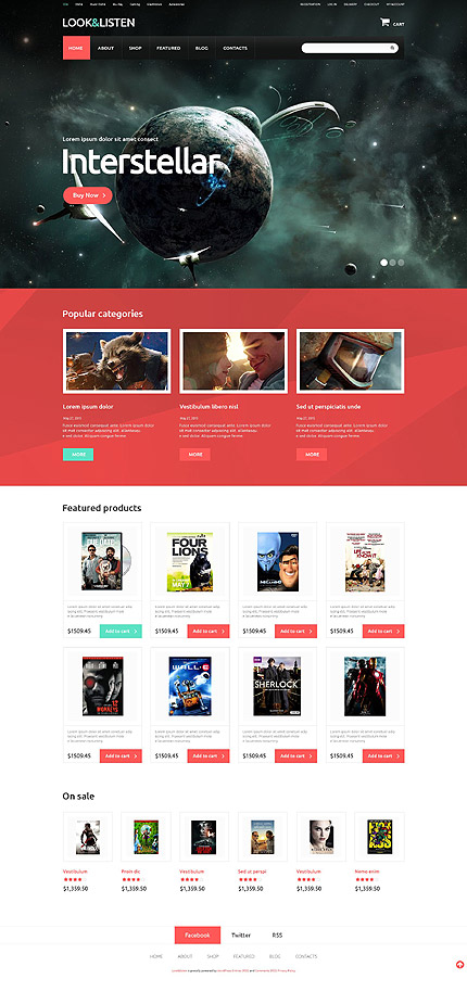 ADOBE Photoshop Template 52563 Home Page Screenshot