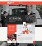 Medical Website  Template 52568