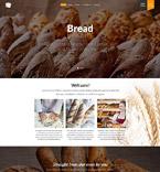 Food & Drink Website  Template 52572