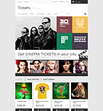 Entertainment PrestaShop Template 52581