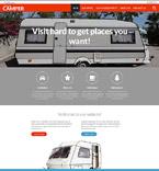 Travel Website  Template 52583