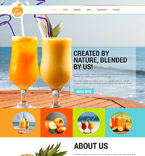 Food & Drink Joomla  Template 52584