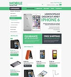Electronics VirtueMart  Template 52588