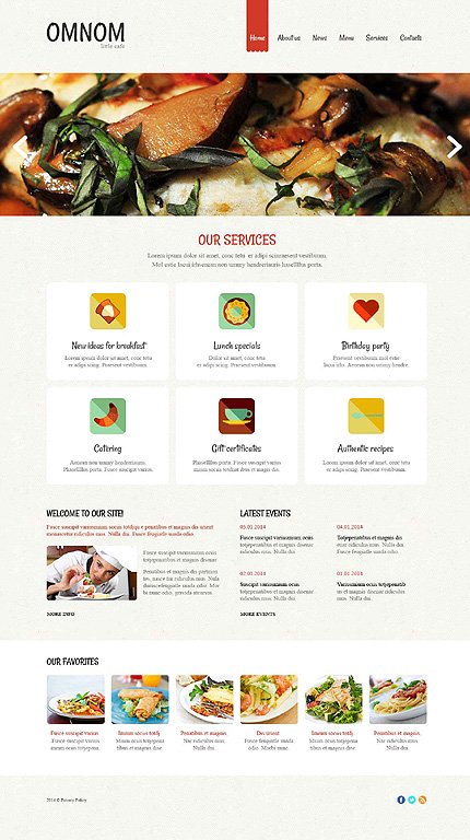 Drupal Template 52590 Main Page Screenshot
