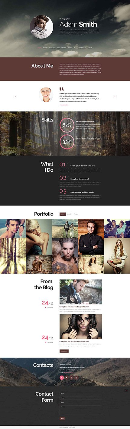 Drupal Template 52591 Main Page Screenshot