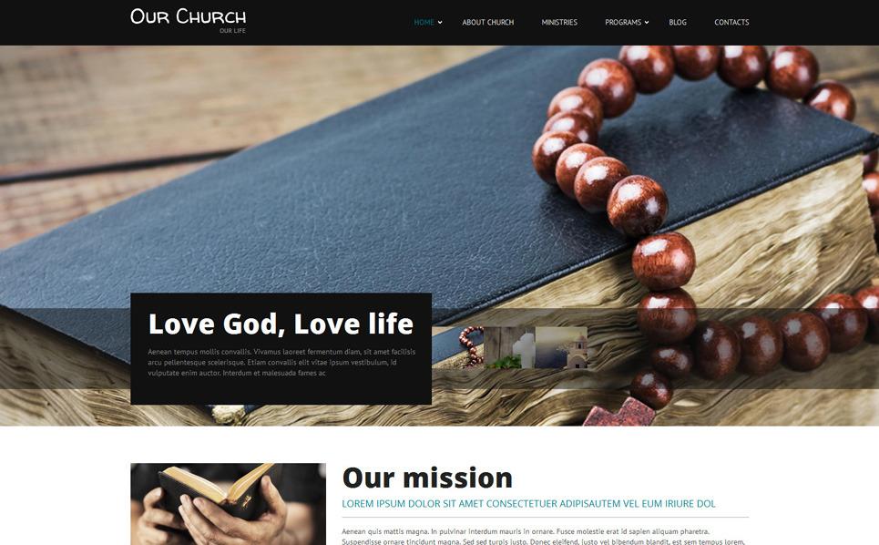 Responsywny szablon Drupal #52592 na temat: religia New Screenshots BIG