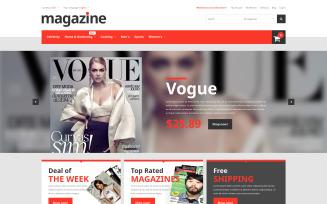Magazine Store Magento Theme