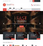 Food & Drink Shopify Template 52597