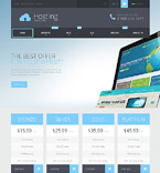 Web Hosting Shopify Template 52598