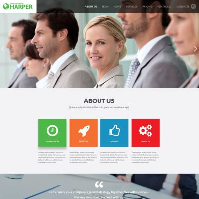 Business consulting agency website template 52501 business consulting agency website template 52501 website templates wajeb Choice Image