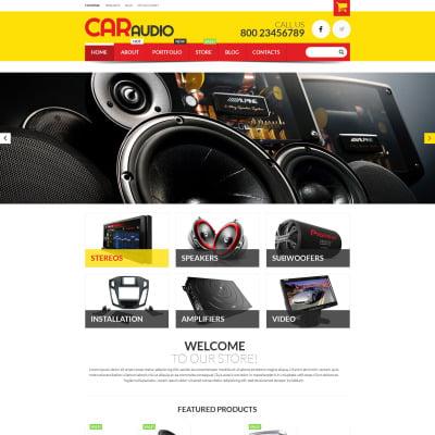 Audio Equipment WooCommerce Theme