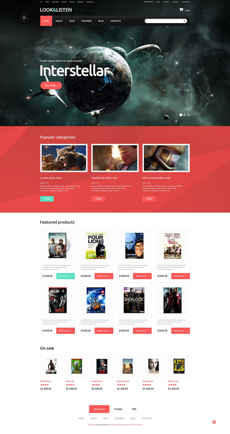 Entertainment Marketplace WooCommerce Theme New Screenshots BIG