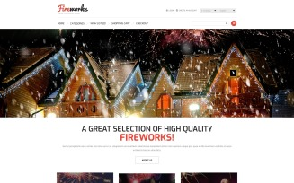 Fireworks Store OpenCart Template