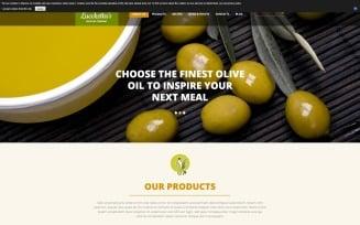 Food & Drink Responsive Joomla Template