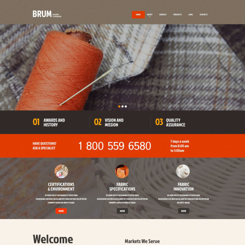 Brum - WordPress Template based on Bootstrap