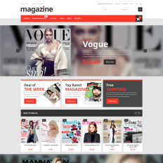 Selling e books magento theme 53173 magazine store fandeluxe Image collections