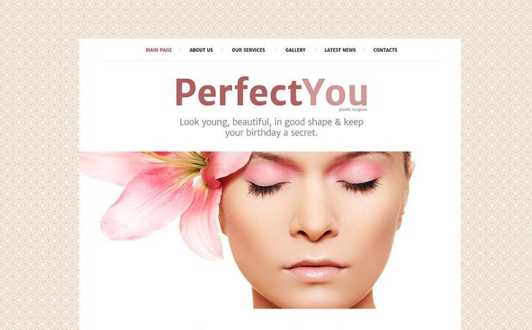 Plastic Surgeon Website Template