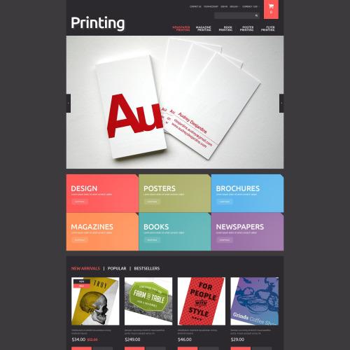 Printing  - PrestaShop Template based on Bootstrap