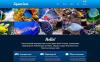 Reszponzív Halak témakörű  Weboldal sablon New Screenshots BIG